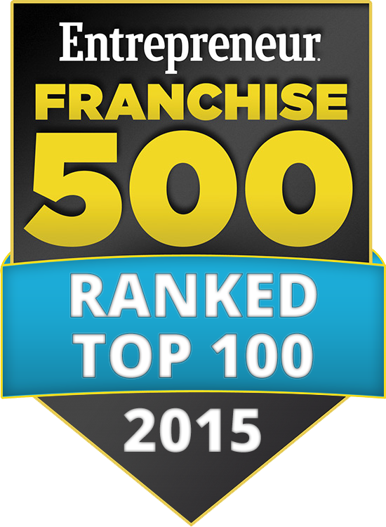Cellairis Franchise 500 Top 100 - 2015